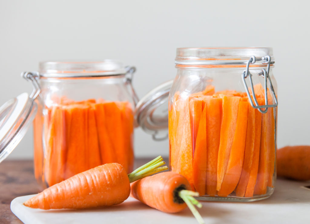 Fermented Carrot Sticks