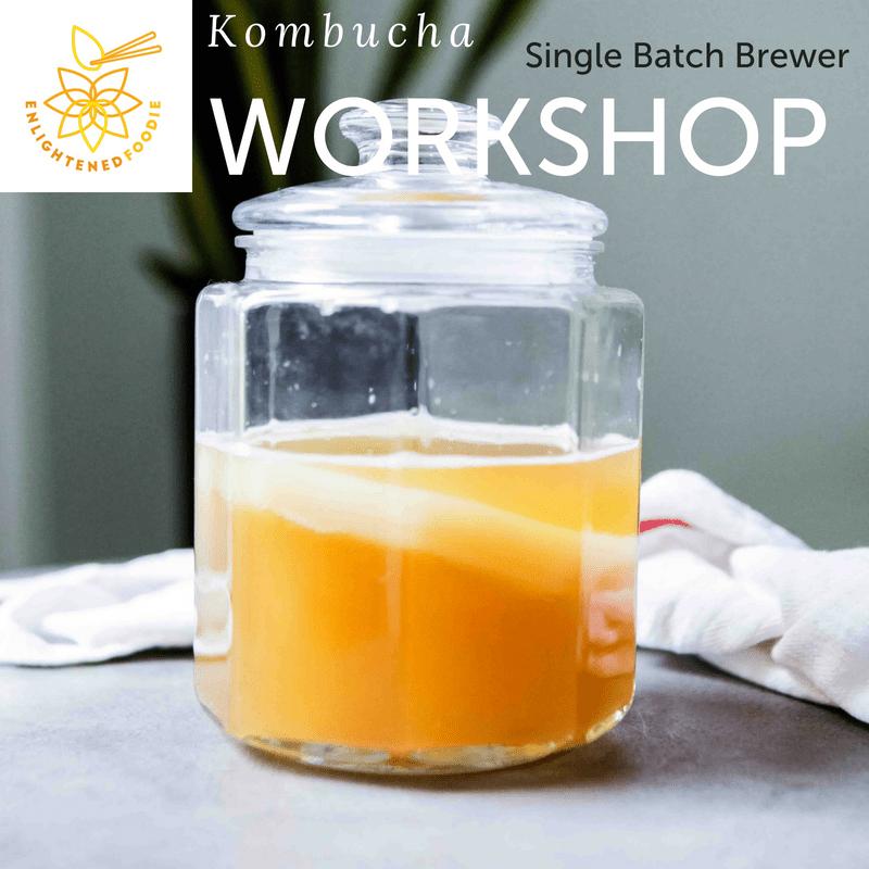 Kombucha Workshop – Single Brewer