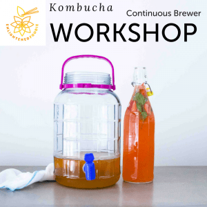 Kombucha Workshop Saigon - Continuous Brewer