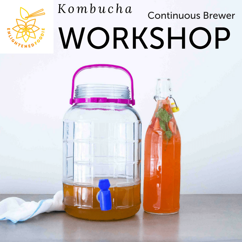 Kombucha Workshop – Continuous Brewer