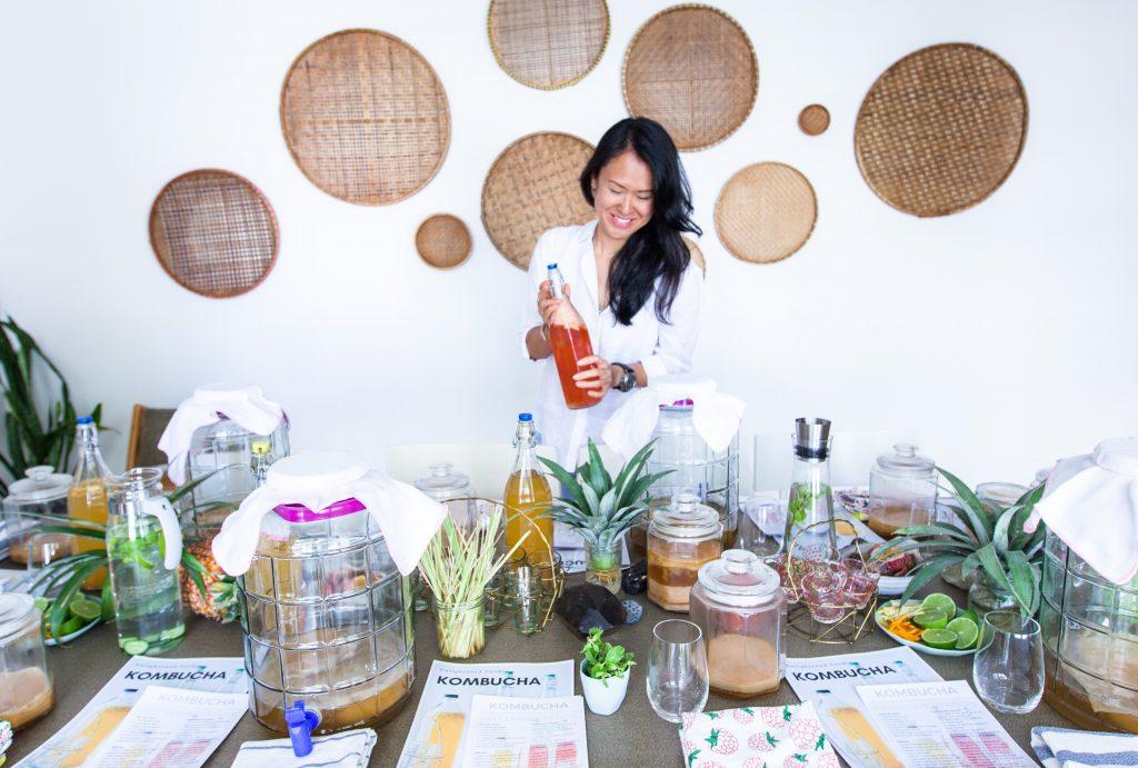 Learn how to make Kombucha