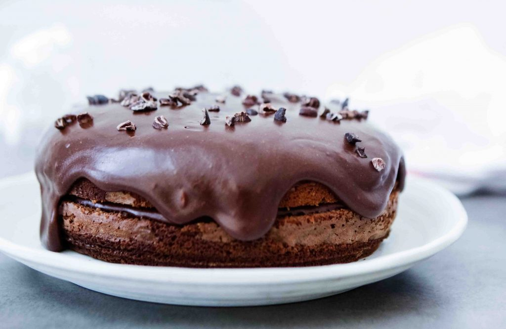 Grain Free Chocolate Cake (Paleo)