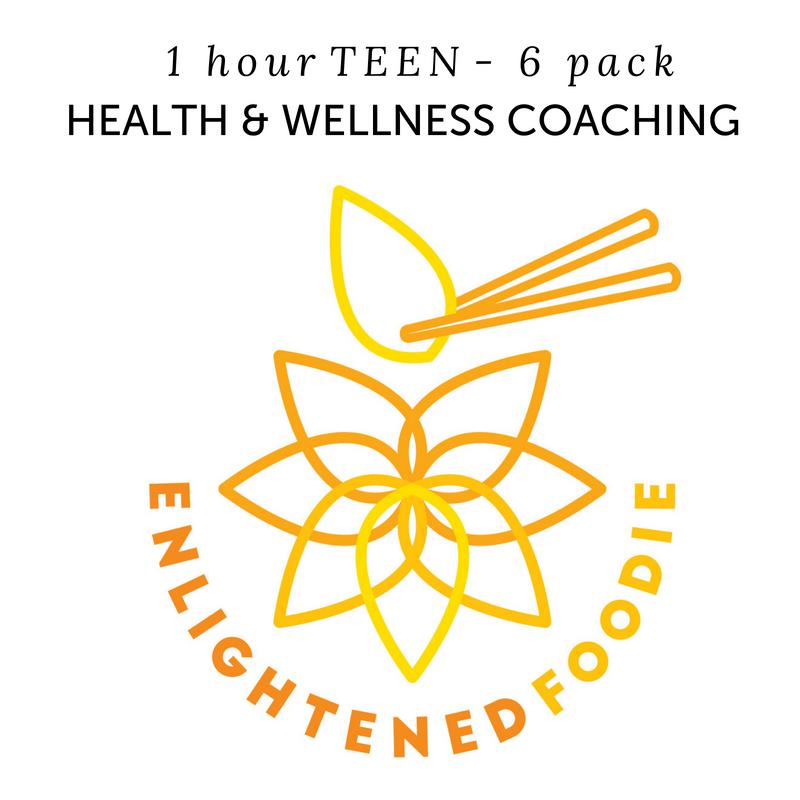 Health & Wellness Coaching – 6 Pack – 1 Hour Teen