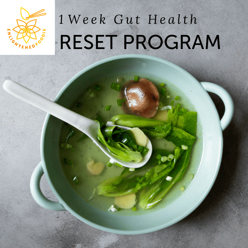 1 Week Gut Health Reset Program