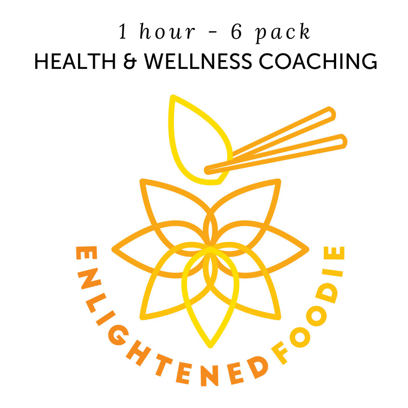 Health & Wellness Coaching – 6 Pack – 1 Hour