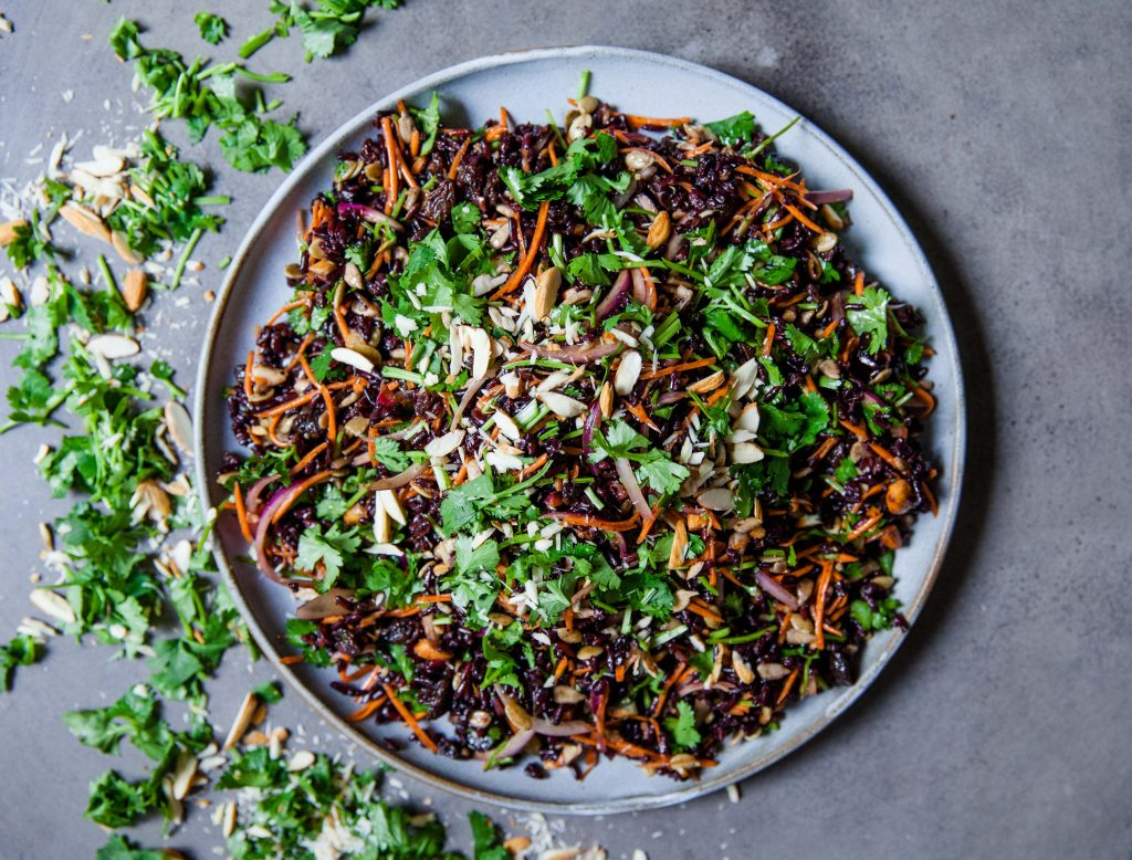 Wild Black Rice Salad