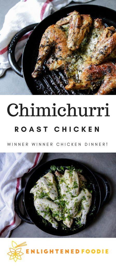 Chimichurri Roast Chicken